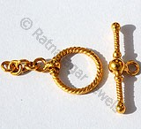 18k Gold Jewelry Clasps