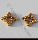18k Gold Spacer Beads