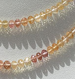 Imperial Topaz  Faceted Roundels