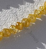 Diamond Gemstone beads Faceted Rondelle