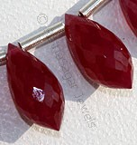 Ruby Gemstone Chandelier Briolette