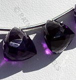 Amethyst Gemstone Faceted Chestnut