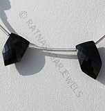 Black spinel pentagon shape