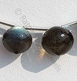 Labradorite Gemstone-Onion Shape