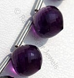 Amethyst Gemstone Beads-Onion Shape