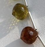 Grossular Garnet-Onion Shape