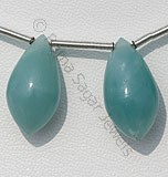 Amazonite Beads-Chandelier Briolettes
